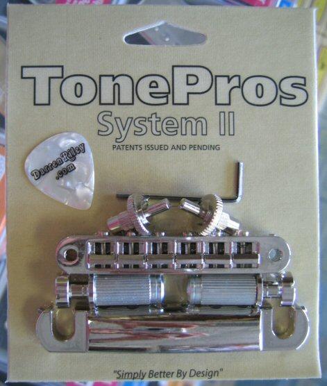 TonePros LPS02-N Standard Tuneomatic/Tailpiece Set Nickel