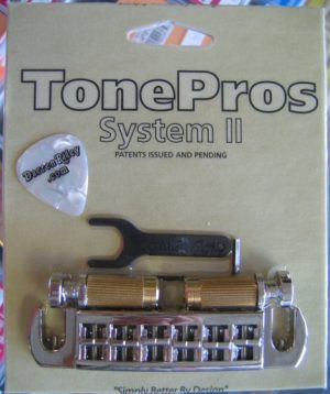 TonePros AVT2G-C Gibson Wraparound Set with Locking Studs Chrome