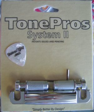 NEW Tone Pros T1ZSA-N LOCKING ALUMINUM TAILPIECE for Gibson USA Standard Nickel