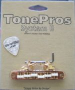 TonePros T3BT-C Metric Tune-O-Matic bridge