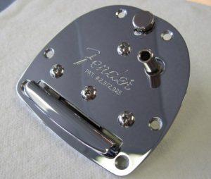 Genuine Fender Classic Player Jazzmaster//Jaguar Tremolo Tailpiece with Screws
