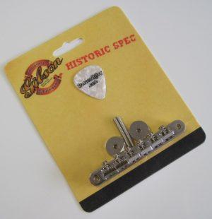 Gibson Historic Spec Non-Wire ABR-1 Tune-O-Matic Bridge PBBR-059
