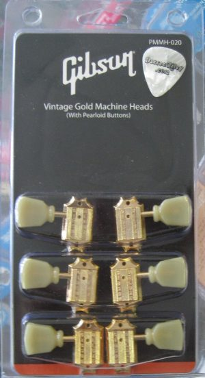 Gibson Deluxe Tuners GOLD PMMH-020