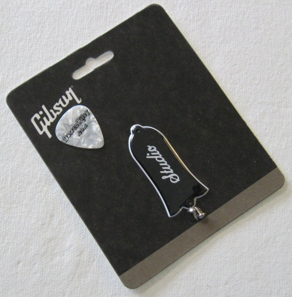 Gibson Les Paul Studio Truss Rod cover w//screws Genuine