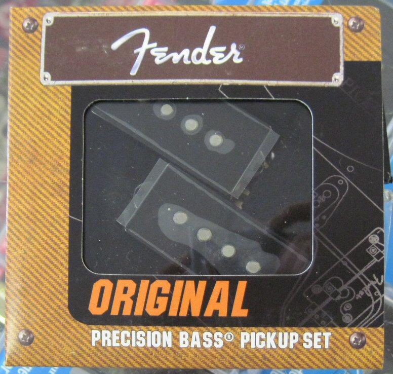 NEW 099-2046-000 Genuine Fender Original Precision Bass Pickup Set