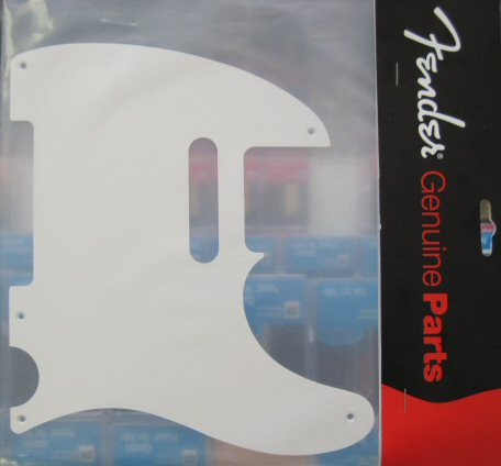 Fender 50s Vintage 5 Hole Telecaster Pickguard White 0051514000 005