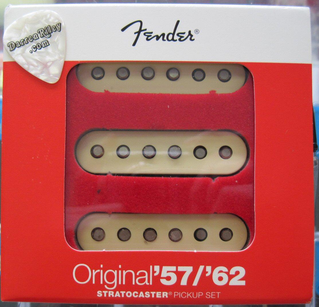 Fender Original 57  62 Stratocaster Pickups 0992117000 Set Of 3