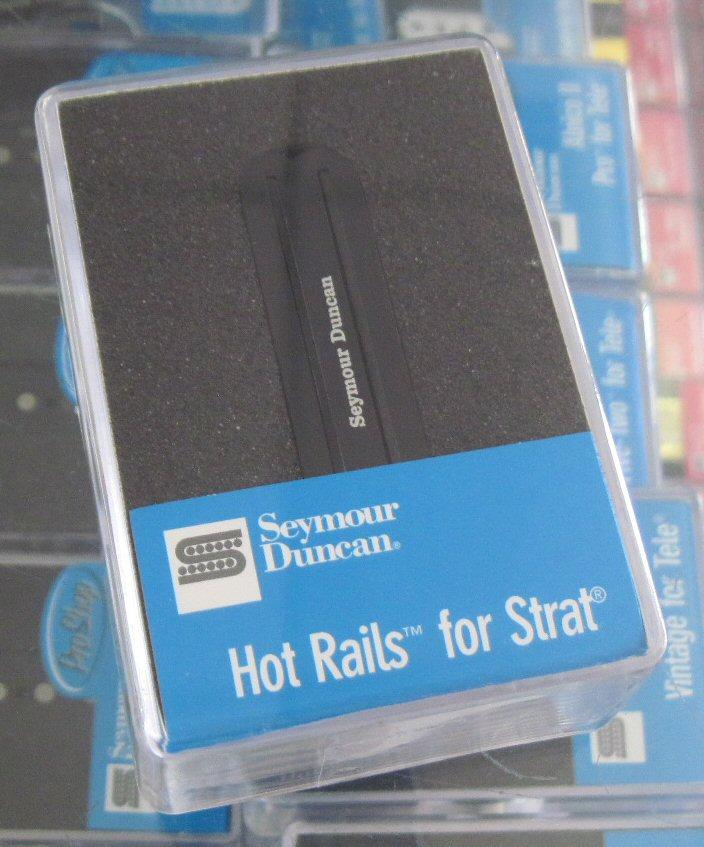 Seymour Duncan SHR-1b Hot Rails Strat bridge