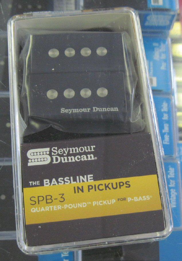 Seymour Duncan SPB-3 Quarter Pound P Bass Pickup Black