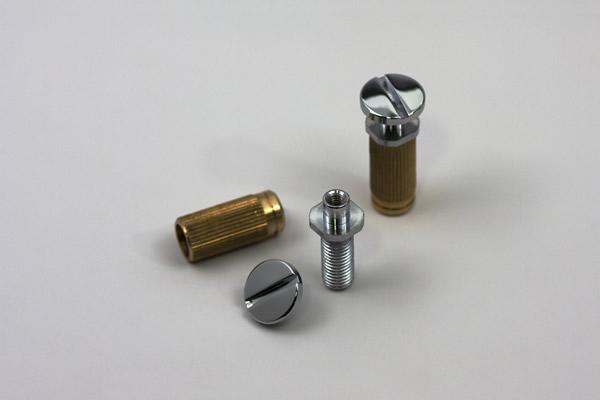 TonePros Large Cap Locking Studs For USA PRS Wraparound SPRS2-N NICKEL