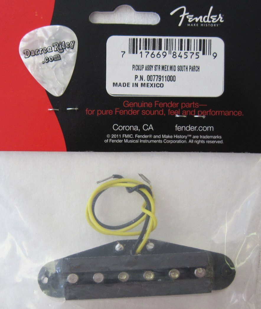 Fender Mexico Standard Stratocaster Middle Pickup 0077911000 007