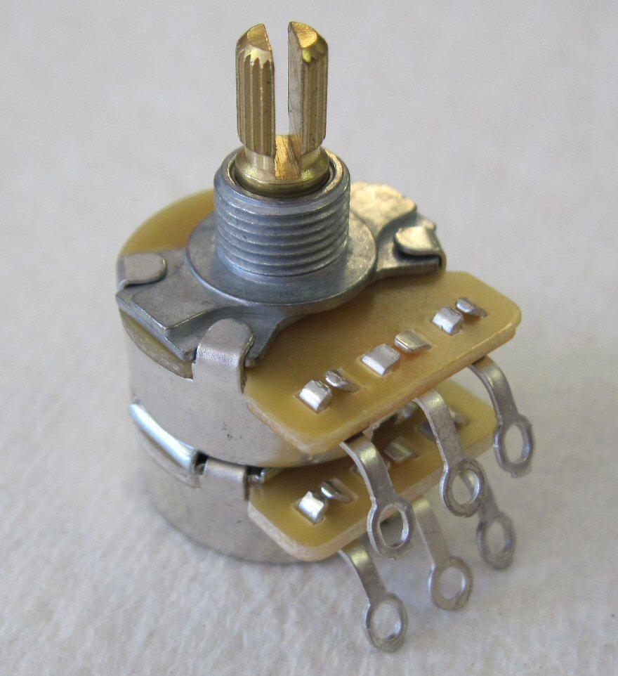Fender Dual 500k 250k Split Shaft Pot 0990847000 7707211000 099 0847 000 Push Pull Wiring
