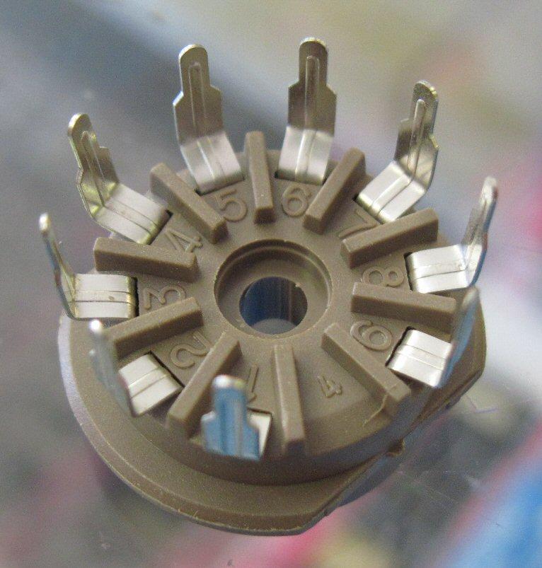 Tube Sockets 9-Pin Magic Parts Co