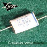Luxe 1958-1961 cap