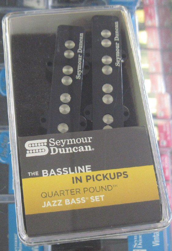 Seymour Duncan Quarter Pound Jazz Bass set SJB-3s
