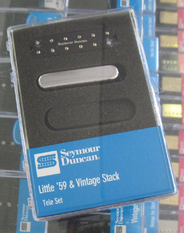 Seymour Duncan Little 59 & Vintage Stack Telecaster set