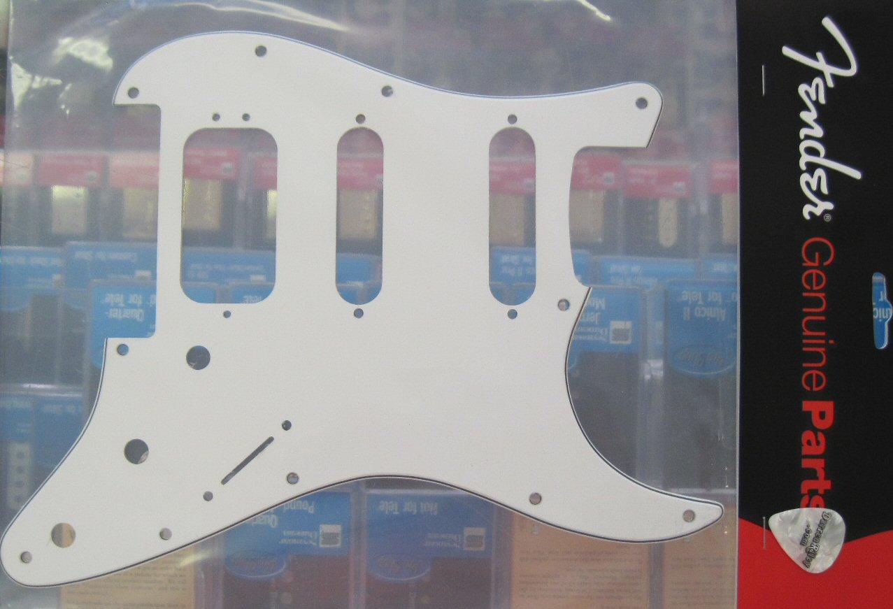 Fender Floyd Rose Fat Strat Pickguard White 0053157000