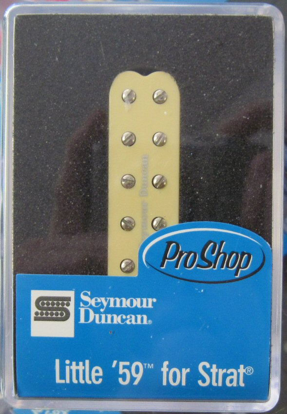 Seymour Duncan SL59-1b Little 59 Strat Bridge CREAM