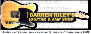 Darren Riley's Guitar & Amp Shop