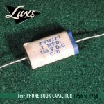 Luxe 56-58 capacitor